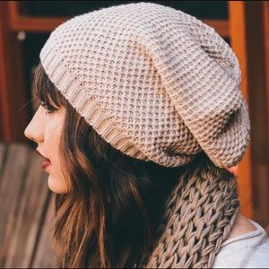 Accessories - Slouch Knit Beanie